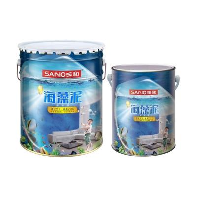 三和怡宁海藻泥贝瓷净墙面漆